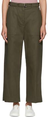 Rag & Bone Green Lora Trousers