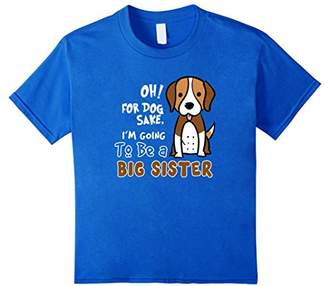 I'm Going To Be A Big Sister Dog T Shirt