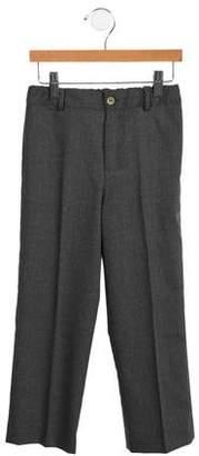 Oscar de la Renta Boys' Wool Dress Pants