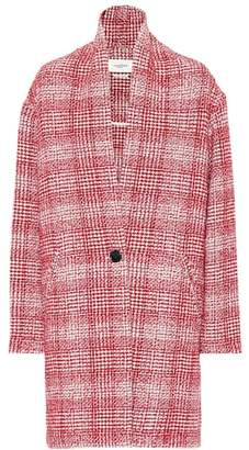 Etoile Isabel Marant Isabel Marant, Étoile Ebrie checked wool-blend coat