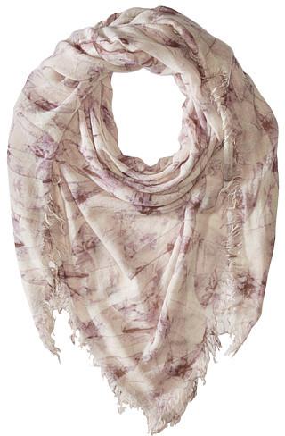 Chan LuuChan Luu Bow Print Cashmere & Silk Scarf