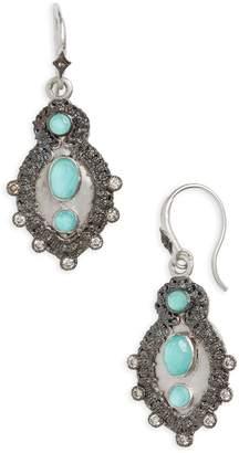 Armenta New World Turquoise Doublet Drop Earrings