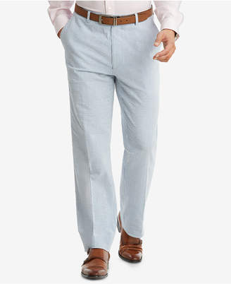Tommy Hilfiger Closeout! Men's Slim-Fit THFlex Stretch Blue/White Stripe Seersucker Suit Pants