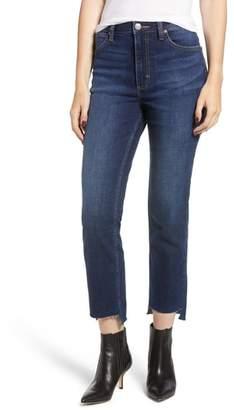 Wrangler Heritage Step Hem Straight Leg Crop Jeans