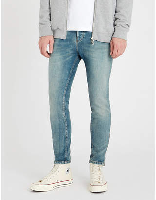 The Kooples Slim-fit faded skinny jeans