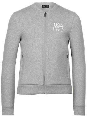 USA Pro Kids Girls Neo Bomber Jacket Zip Hoodie Coat Top Hoody Hooded Long