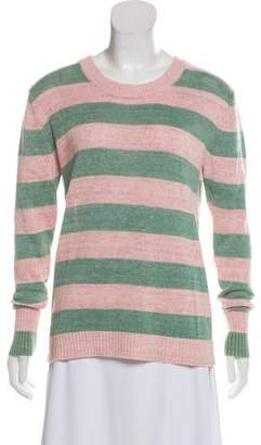 Marc by Marc Jacobs Striped Scoop Neck Sweater