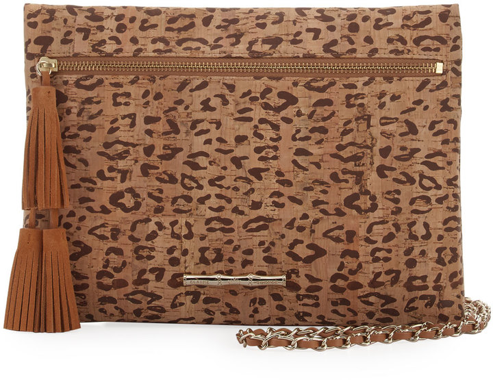 Elaine Turner Sonata Cork Chain Shoulder Bag
