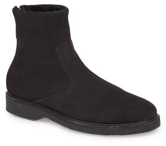 WANT Les Essentiels Stevens Zip Boot with Genuine Shearling