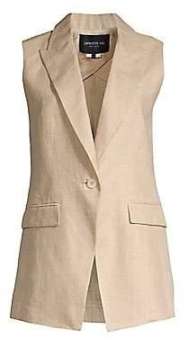 Lafayette 148 New York Women's Vanya Nexus Linen Vest