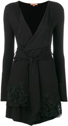 Ermanno Scervino asymmetric belted blouse