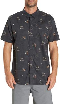 Billabong Sundays Mini Short Sleeve Woven Shirt