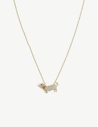 Vivienne Westwood Dachshund necklace