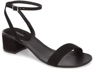 Topshop Darla Block Heel Sandal