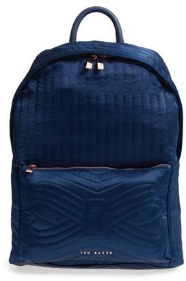 Ted Baker Akija Quilted Bow Backpack