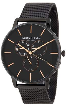 Kenneth Cole New York Men's Stainless Steel Mesh Bracelet Watch, 42mm
