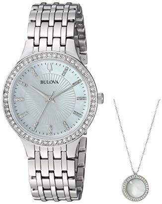 Bulova Women's Quartz Stainless Dress Watch