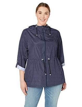 Details Women's Plus Size Packable Anorak Jacket,2X