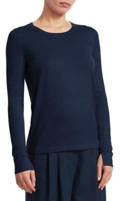 Loro Piana Cashmere Long-Sleeve Pullover