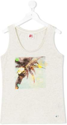 American Outfitters Kids teen palm tree tank top