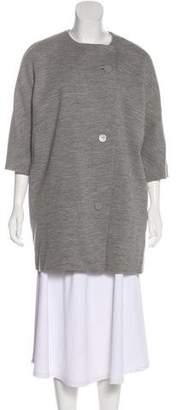 Balenciaga Short Wool Coat