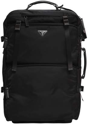 Prada MULTI POCKETS NYLON 2-WHEEL TROLLEY