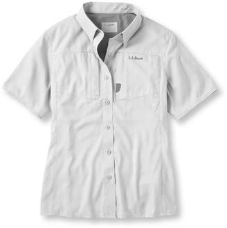 L.L. Bean L.L.Bean Rapid River Technical Fishing Shirt, Short-Sleeve