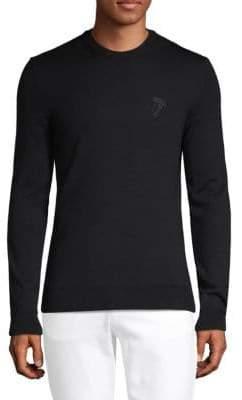 Versace Long-Sleeve Wool Sweater