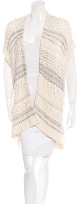 Inhabit Striped Sleeveless Sweater w/ Tags $125 thestylecure.com
