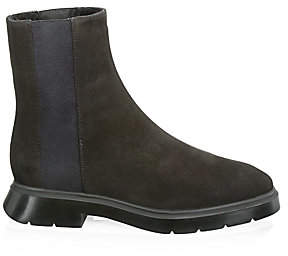 Stuart Weitzman Women's Romy Shearling-Lined Leather Chelsea Boots