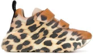 Stella McCartney leopard print Eclypse sneakers