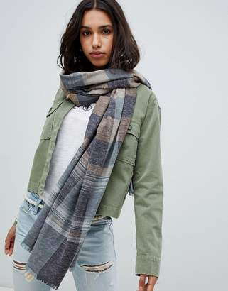 Abercrombie & Fitch check scarf