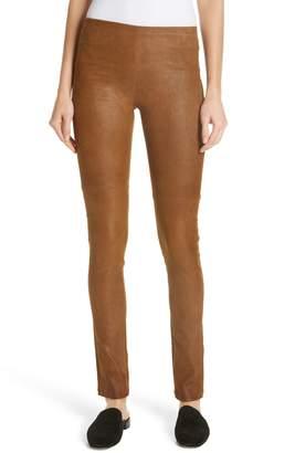 Mes Demoiselles Esther Leather Leggings