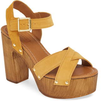 f2996ca3ea Yellow High Heel Women's Sandals - ShopStyle