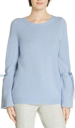 BOSS Fenta Tie Sleeve Cashmere Sweater