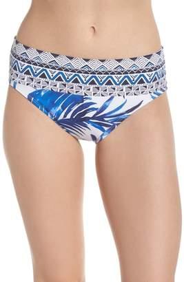 Tommy Bahama Fuller Fronds High Waist Bikini Bottoms