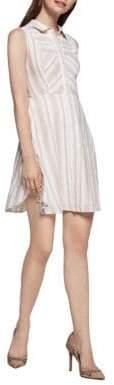 BCBGeneration Striped Shirt Dress