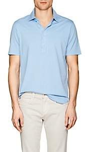 S.MORITZ Men's Capri Cotton Jersey Polo Shirt - Lt. Blue