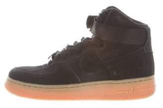 Nike Suede Air Force 1 Sneakers