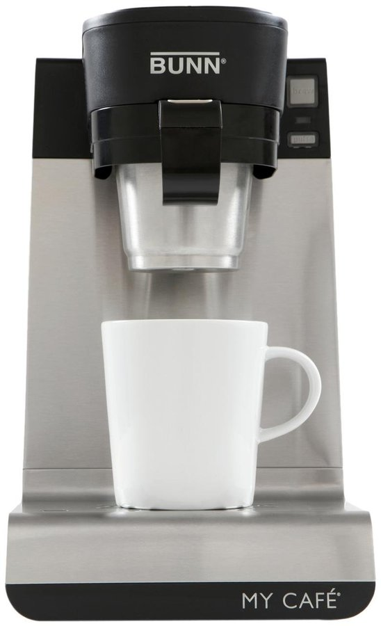 Bunn Single Cup Multi-Use Brewer - Black/Stainless - MCU