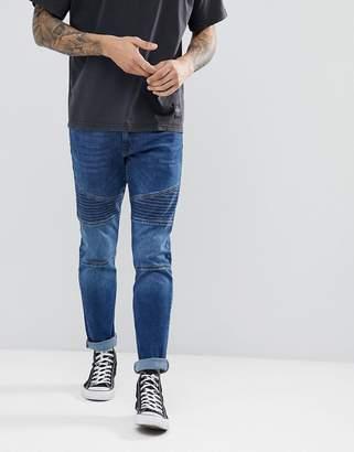Esprit Skinny Fit Biker Jeans