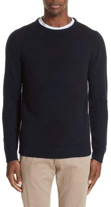 Boglioli Trim Fit Crewneck Wool & Cashmere Sweater