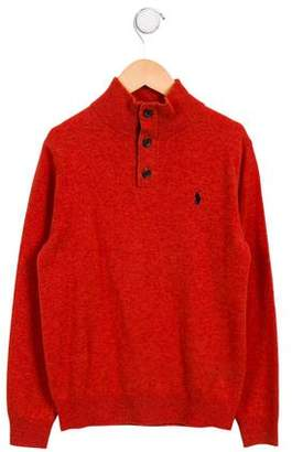 Polo Ralph Lauren Boys' Wool Logo Sweater