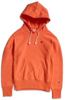 Champion Reverse Weave Hooded Sweatshirt Coral