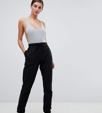 Asos Tall DESIGN Tall basic sweatpants with tie