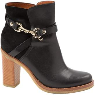 Mulberry Leather ankle boots