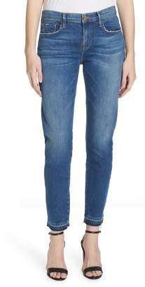 Frame Le Garcon Release Hem Crop Boyfriend Jeans