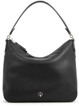 78a65d88363a8 at Harvey Nichols · Kate Spade Polly Medium Black Leather Shoulder Bag