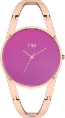 Storm Odesa Rg-Purple Watch