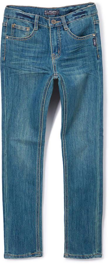 Medium Wash Distressed Skinny Jeans - Boys